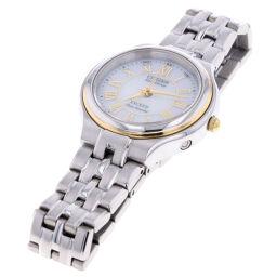 シチズン CITIZEN エクシード エコドライブ 腕時計  H335-T013597  ステンレス/サファイヤガラス/GP シルバー レディース K80626506