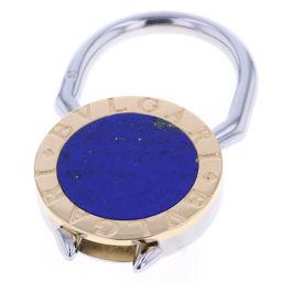 ブルガリ BVLGARI ブルガリブルガリ キーリング ラピス  チャーム 140393 180749609  K18/SS ブルー レディース K80627214