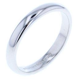 ティファニー TIFFANY&Co. ルシダバンド リング・指輪  プラチナPT950 14号 シルバー レディース K80713303