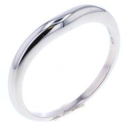 ブルガリ BVLGARI コロナ ウェデイング  リング・指輪  プラチナPT950 15号 シルバー メンズ K80713310