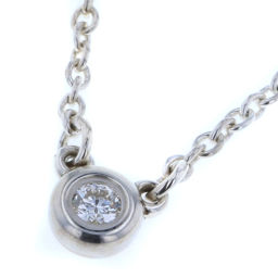 ティファニー TIFFANY&Co. バイザヤード 1P  ネックレス  シルバー925/ダイヤモンド ダイヤモンド0.05ct シルバー レディース K80713345