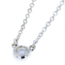 ティファニー TIFFANY&Co. バイザヤード 1P ペレッティ ネックレス  シルバー925/ダイヤモンド ダイヤモンド0.07ct シルバー レディース K80713360