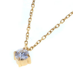 Ete ete Fleur One Point 0.07ct Necklace 260853 K18 Yellow Gold / Diamond Diamond 0.07ct Gold Women K80813624
