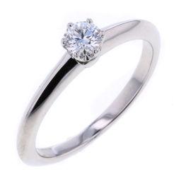 ティファニー TIFFANY&Co. ソリティア ダイヤモンド0.23ct リング・指輪  プラチナPT950/ダイヤモンド ダイヤモンド0.23ct 11号 シルバー レディース K80902713