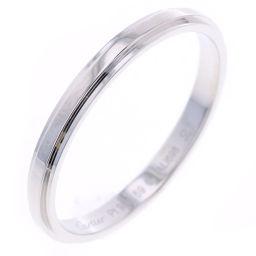 カルティエ CARTIER ダムール 2mm リング・指輪  プラチナPT950 19号 シルバー メンズ K80923881