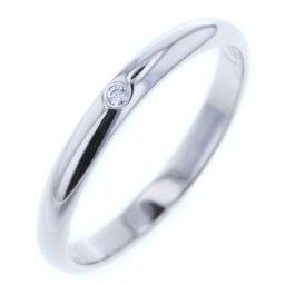 カルティエ CARTIER ウェディング 1P リング・指輪  プラチナPT950/ダイヤモンド 15号 シルバー メンズ K80923883