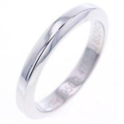 カルティエ CARTIER クラシック ウェディング リング・指輪  プラチナPT950 7号 シルバー レディース K80923892