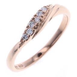 スタージュエリー STAR JEWELRY 0.06ct リング・指輪  K10ピンクゴールド/ダイヤモンド ダイヤモンド0.06ct 8号 ゴールド レディース K80923893