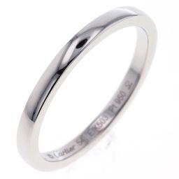 カルティエ CARTIER バレリーナ ウェディング 14号 2mm リング・指輪  プラチナPT950 14号 シルバー メンズ K80923920