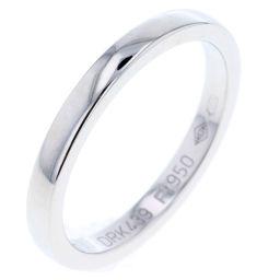 カルティエ CARTIER ウェディング リング・指輪  プラチナPT950 7号 シルバー レディース K80923974