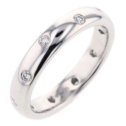 ティファニー TIFFANY&Co. ドッツ バンド 18号 0.22ct リング・指輪  プラチナPT950/ダイヤモンド ダイヤモンド0.22ct 18号 シルバー メンズ K81013128