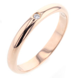 カルティエ CARTIER ウエディング 2.6mm 1P ダイヤモンド リング・指輪 B4088200  K18ピンクゴールド 9号 ゴールド レディース K81017162