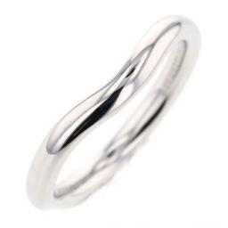 ティファニー TIFFANY&Co. カーブドバンド 2mm リング・指輪  プラチナPT950 5号 シルバー レディース K81023334