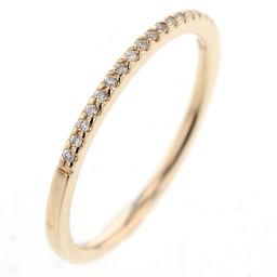 アガット agete ハーフエタニティ ダイヤモンド 0.05ct  リング・指輪  K10イエローゴールド/ダイヤモンド ダイヤモンド0.05ct 7号 ゴールド レディース K81023378