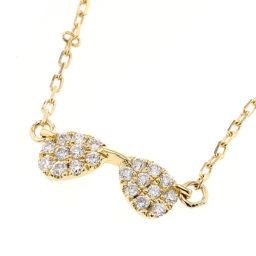 アーカー AHKAH メガネ ダイヤ 0.07ct  ネックレス  K18イエローゴールド/ダイヤモンド ダイヤモンド0.07ct ゴールド レディース K81123618
