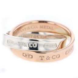 ティファニー TIFFANY&Co. 1837インターロッキングサークル リング・指輪  SV925/ルベドメタル 7号 シルバー レディース K81123632