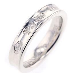 ティファニー TIFFANY&Co. 1837 ナロー 4mm リング・指輪  シルバー925 8号 シルバー レディース K81123665