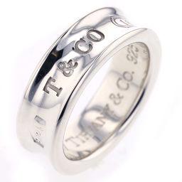 ティファニー TIFFANY&Co. 1837 12号 7mm リング・指輪  シルバー925 12号 シルバー レディース K81123671