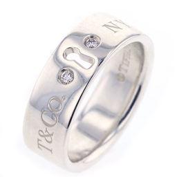 ティファニー TIFFANY&Co. ロック 2P リング・指輪  シルバー925/ダイヤモンド 9号 シルバー レディース K81123683