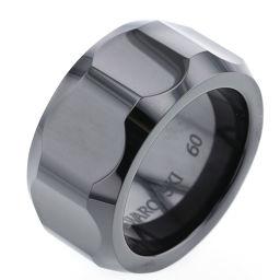 スワロフスキー SWAROVSKI 円錐形 conic リング・指輪  クリスタル 19.5号 ブラック メンズ K81123740