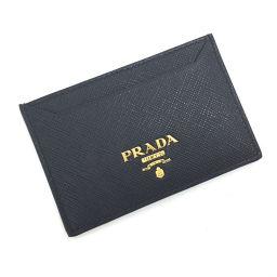 プラダ PRADA パスケース 定期入れ サフィアーノレザー カードケース 1MC208  牛革/ NERO ブラック メンズ K81123763