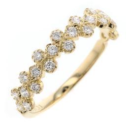 アーカー AHKAH フローレント 10号 リング・指輪  K18イエローゴールド/ダイヤモンド ダイヤモンド0.31ct 10号 ゴールド レディース K81213004