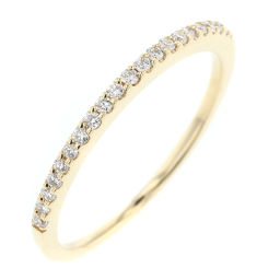 Ete ete Half Eternity Diamond 0.10ct Ring / Ring K18 Yellow Gold / Diamond Diamond 0.10ct No. 7 Gold Women K81223067