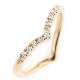 スタージュエリー STAR JEWELRY ハート ピンキー リング・指輪  K18イエローゴールド/ダイヤモンド ダイヤモンド0.04ct 4号 ゴールド レディース K90123889
