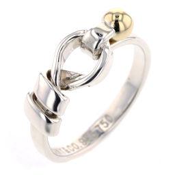 ティファニー TIFFANY&Co. フック&アイ  リング・指輪  750/SV925 11.5号 レディース K90123910
