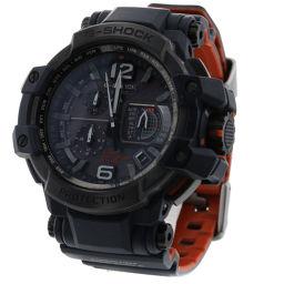 カシオ CASIO G-SHOCK スカイコックピット ソーラー電波 腕時計 GPW-1000-2AJF  SS/ラバー ネイビー メンズ K90201239