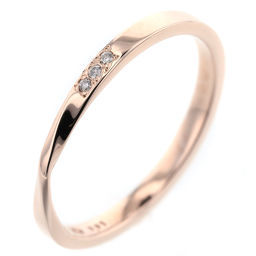 Ete ete 0.01 ct Ring / ring K10 pink gold / diamond diamond 0.01ct No. 11 gold women K90323610