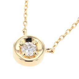Ete ete 1P 0.06ct Necklace 260687 K18 Yellow Gold / Diamond Diamond 0.06ct Gold Women K90323627