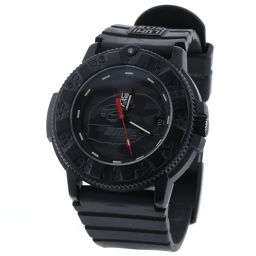 ルミノックス LUMINOX ア・ベイシング・エイプ クオーツ 黒文字盤 腕時計 3001MIL  ラバー/カーボンケース ブラック メンズ K90323779