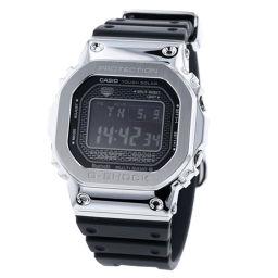 カシオ CASIO Gショック タフソーラー デジタル文字盤  腕時計 GMW-B5000 ラバーベルト 電波 3459 JA  SS/ラバー ブラック メンズ K90323783
