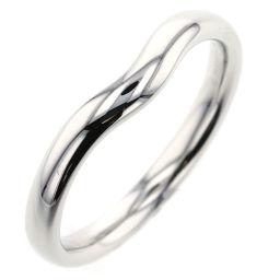 ティファニー TIFFANY&Co. カーブドバンド 18号 約3mm リング・指輪  プラチナPT950 18号 シルバー メンズ K90413819