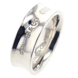 ティファニー TIFFANY&Co. 1837ナロー 幅約7mm リング・指輪  SV925 11号 シルバー レディース K90423168