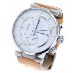 Issey Miyake ISSEY MIYAKE W SILAY 008 Quartz white dial watch VK67-0010 SS / leather white men's K90423214