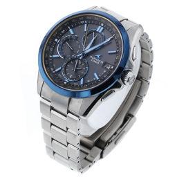 カシオ CASIO オシアナス タフソーラー 黒文字盤  腕時計 OCW-T2600 クラシックライン  チタン ブラック メンズ K90423221