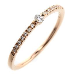 スタージュエリー STAR JEWELRY 15P 0.10ct リング・指輪  K18ピンクゴールド/ダイヤモンド ダイヤモンド0.10ct 13号 ゴールド レディース K90423298