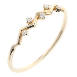 Ete ete Layered 5P 0.03ct Ring / Ring K10 Yellow Gold / Diamond Diamond 0.03ct 13 Gold Women K90423359