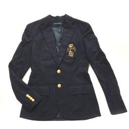 Ralph Lauren RALPH LAUREN 100% wool unused Tailored jacket wool navy ladies K90423906