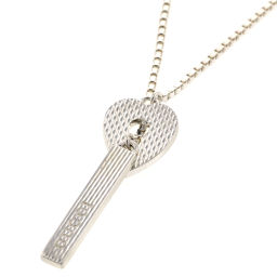 Gucci GUCCI Heart Lock Lariet Necklace SV925 Silver Ladies K90523012