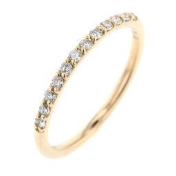 Aker AHKAH Douzburie half eternity 12P 0.12ct Rings and rings AK0948010200 K18 yellow gold / diamond diamond 0.12ct 5 gold women K90523630