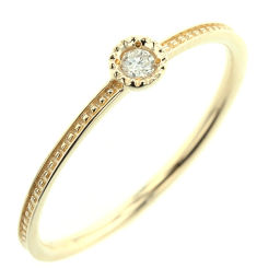 Ette ete 1P diamond 0.03ct ring ring K10 yellow gold / diamond diamond 0.03ct 9 gold ladies K90623466