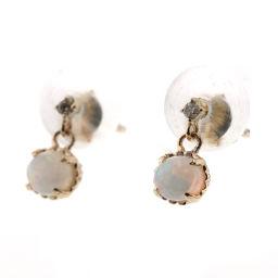 Agat agete earrings opal / diamond / 10K / 18K gold ladies K90723149