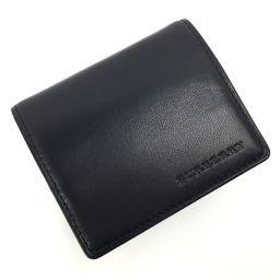 バーバリー BURBERRY 小銭入れ コインケース YD257  レザー ブラック メンズ K90723854