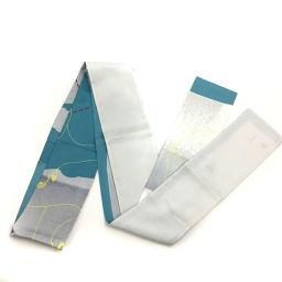エルメス HERMES マキシツイリー スリム ロング スカーフ  シルク100% ブルー レディース K90823472