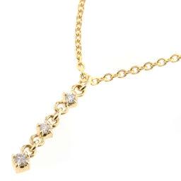Agat agete 3P 0.03ct Necklace in 18k Yellow Gold / Diamond Diamond 0.03ct Gold Ladies K90823787