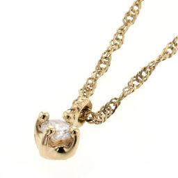 NOJESS NOJESS Necklace K14 Gold / Diamond Diamond Gold Ladies K90823807