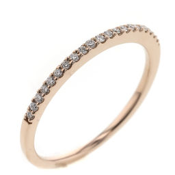 Ete ete Half Eternity 0.10ct Rings & Rings K18 Pink Gold / Diamond Diamonds 0.10ct 9 Gold Women K90823846